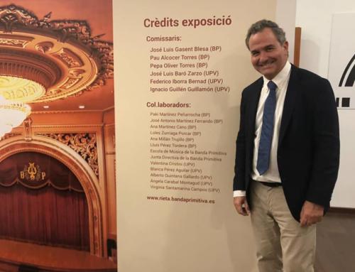 Patrocinador de la Exposición: Bicentenario de la Banda Primitiva de Lliria. El Teatro de Joaquín Rieta